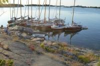 9 Eskadern vid Inre Hamnskär