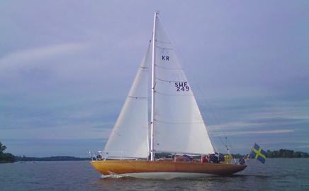 Ny medlemsbåt Caliste